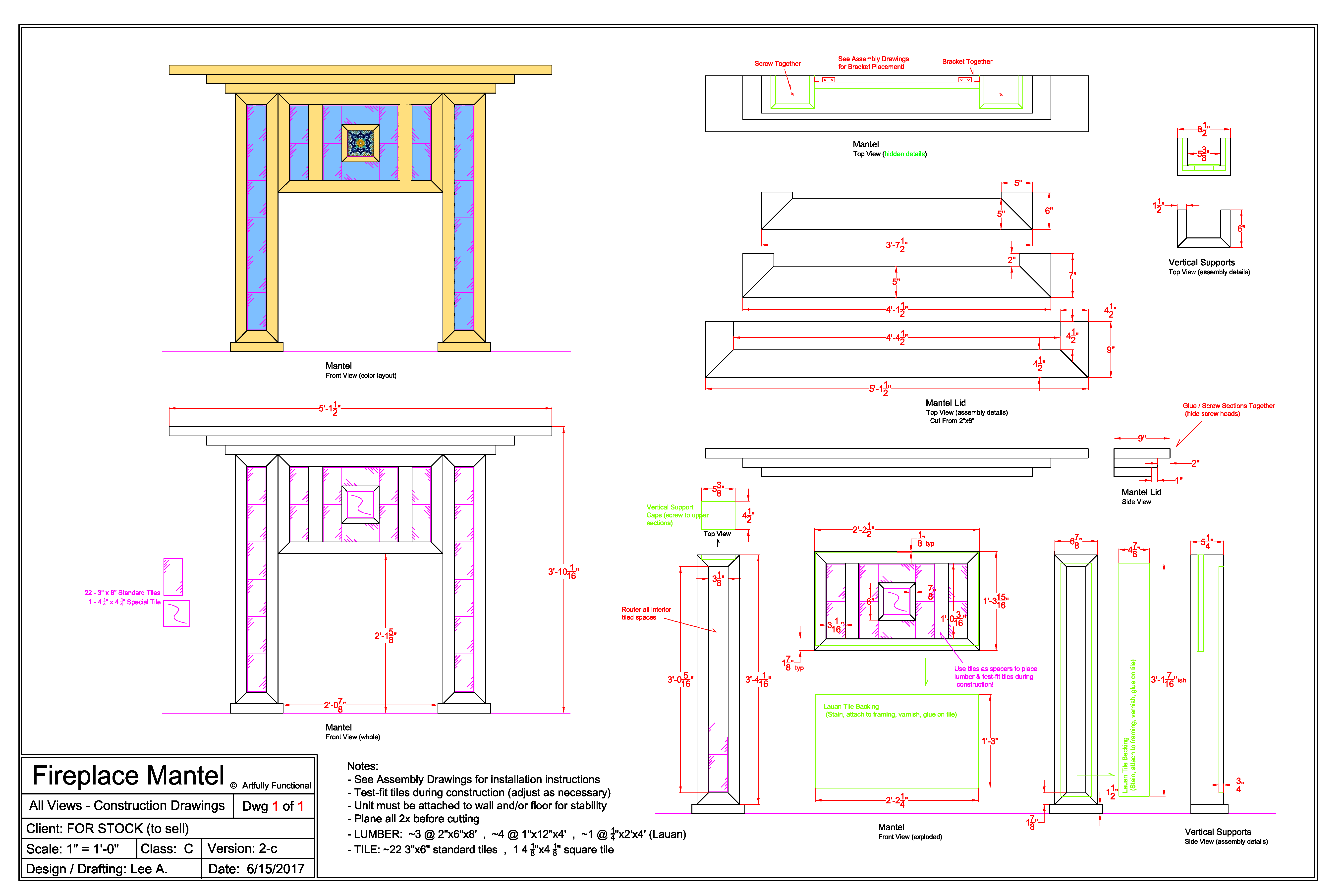 Fireplace mantel dimensions standard fireplace ideas for Fireplace dimensions plan